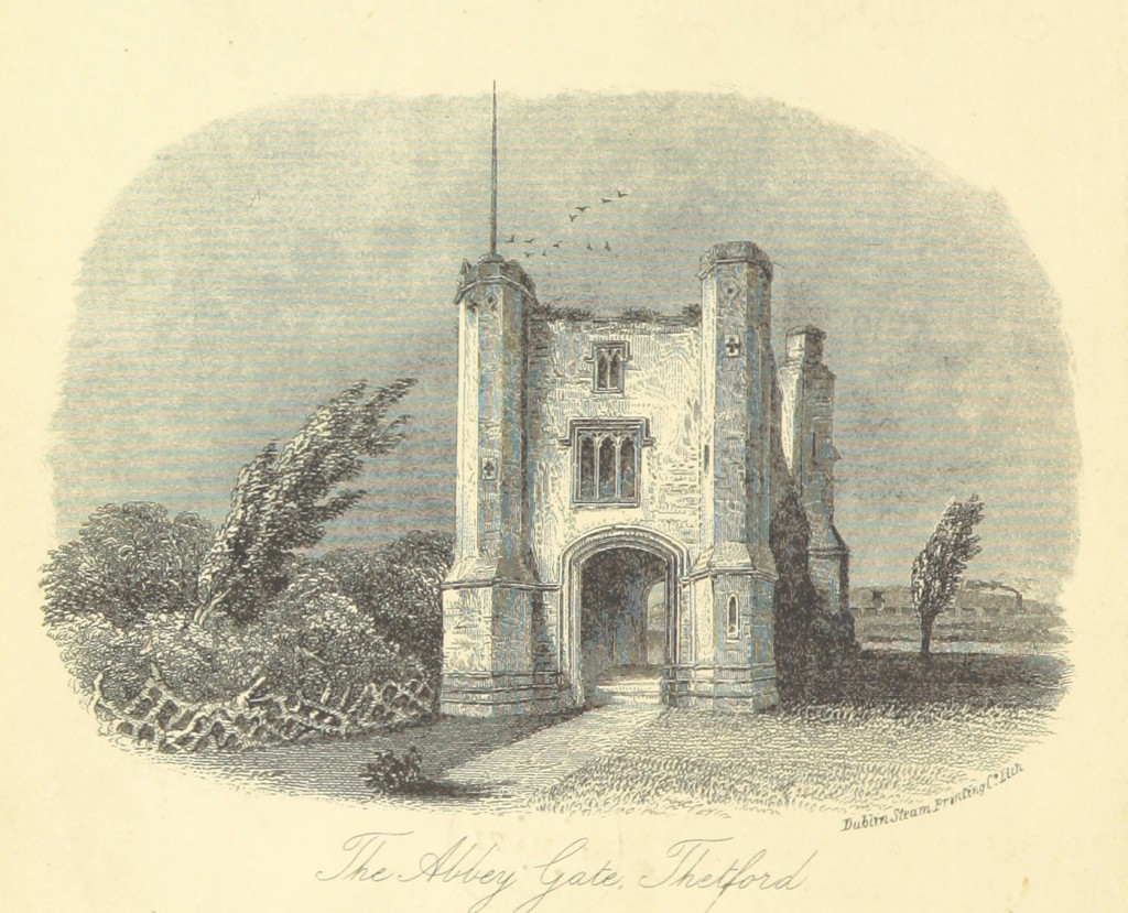 The Abbey Gate at Thetford