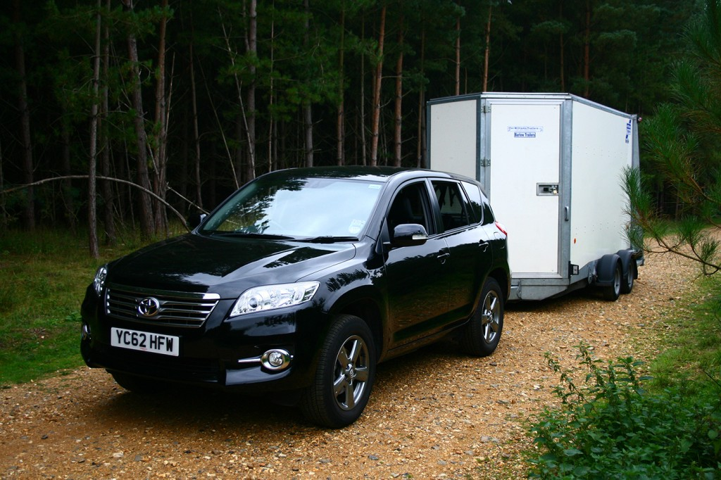 RAV4 and Ifor Williams trailer