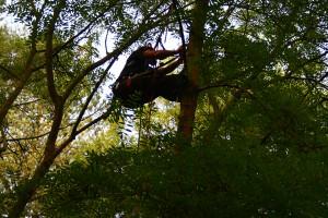 Canopy speaker installation