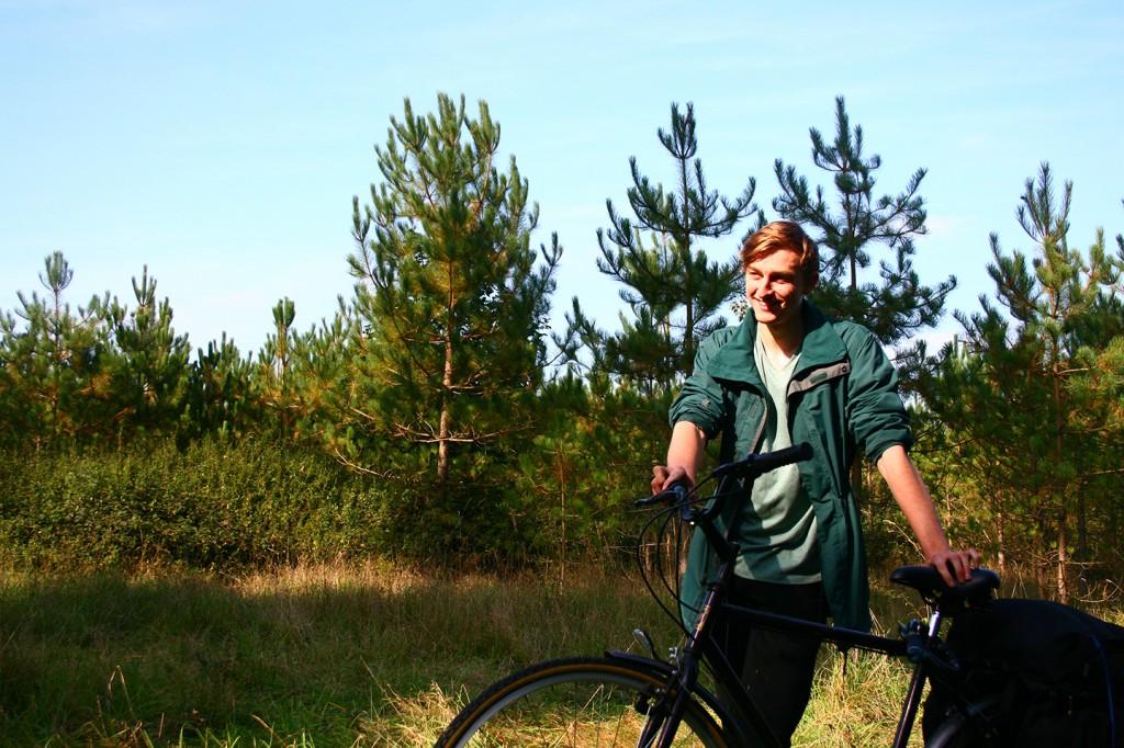 Matt, volunteer from Outpost Arts