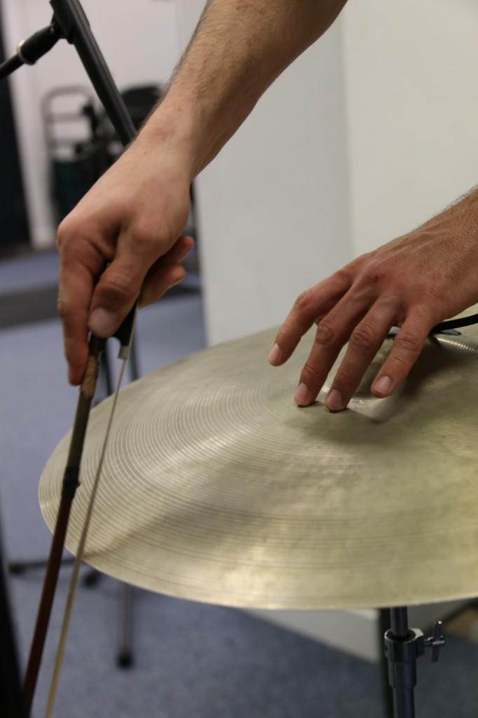 Keir Vine - Bowed Cymbal