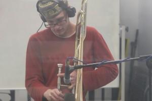 Hywel Jones - Bowed Trombone